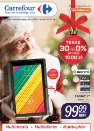 Multimedia w Carrefourze - tablet 7
