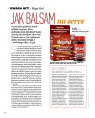 Suplement diety- Mega Red - jak balsam na serce