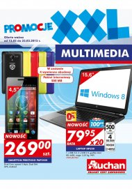 Gazetka Auchan Multimedia do 25 luty 2015