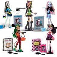 Do wyboru osiem lalek Monster High.