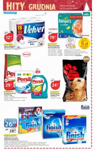 Papier toaletowy Velvet, pieluchy Pampers Economy Box Plus, ...