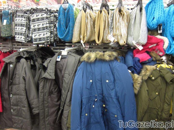 Odzież na zimę, oferta auchan listopad grudzień 2014