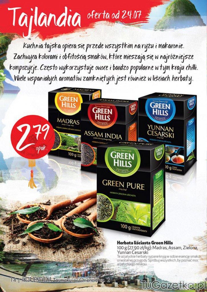 Herbata Yunnan Cesarski Biedronka Artykuły Spożywcze