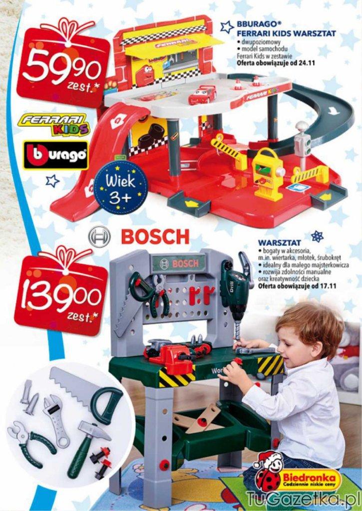 Warsztat Ferrari Kids Biedronka Dla Dzieci Tugazetkapl