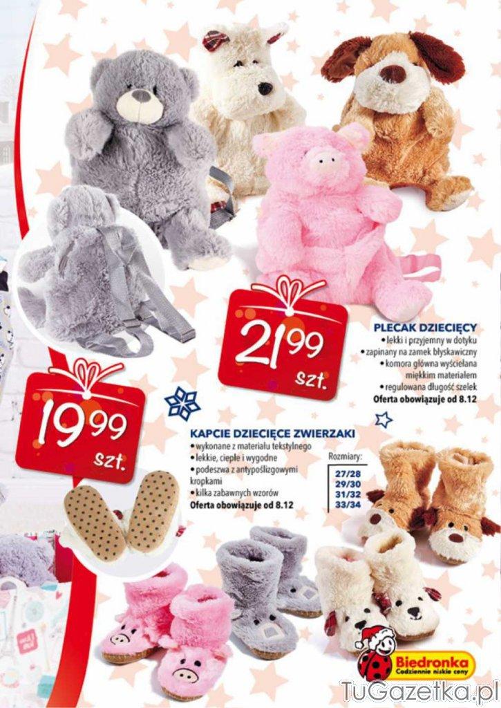 4fa7af170a0d5b Plecak miś Biedronka, Dla dzieci - tuGAZETKA.pl
