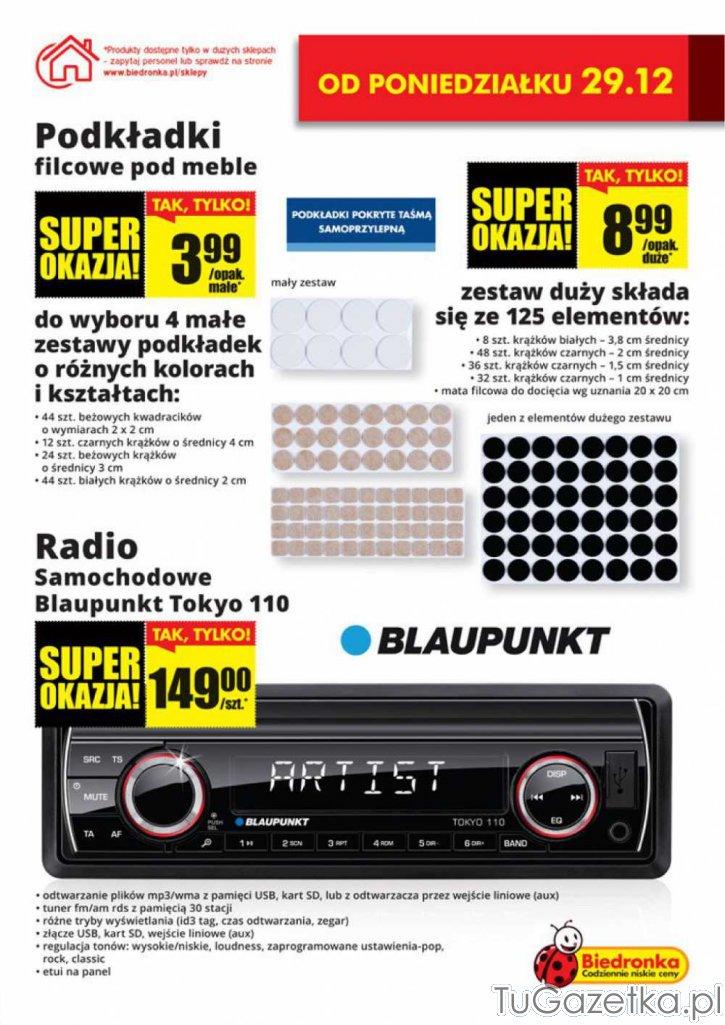 Podkładki Filcowe Pod Meble I Radio Samochodowe Biedronka
