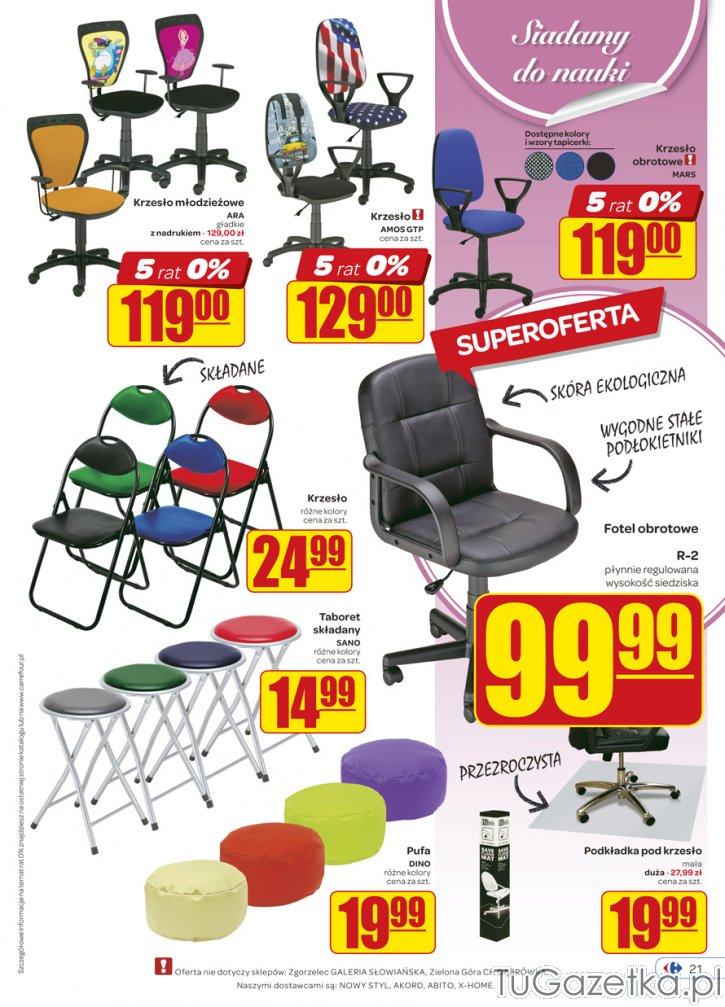 Krzesło młodzieżowe Carfour Carrefour Carrfour i Kerfur