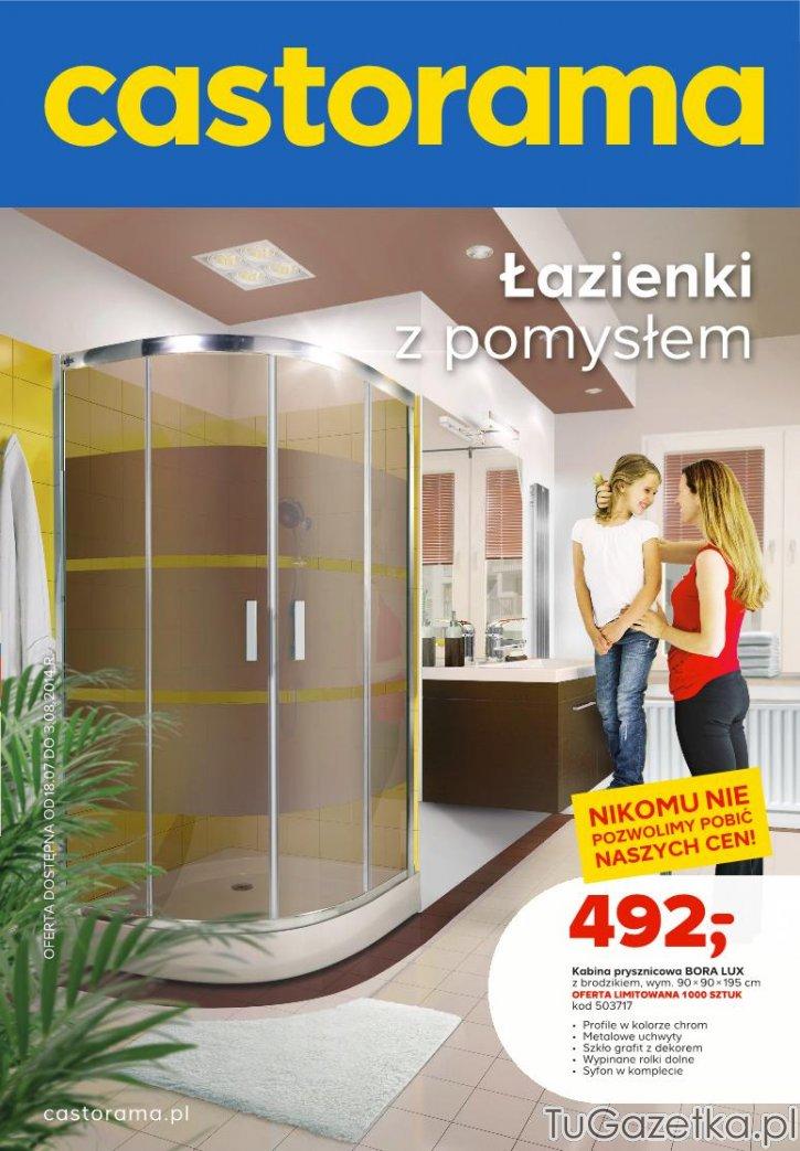 Kabina Prysznicowa Bora Lux Castorama łazienka Tugazetkapl