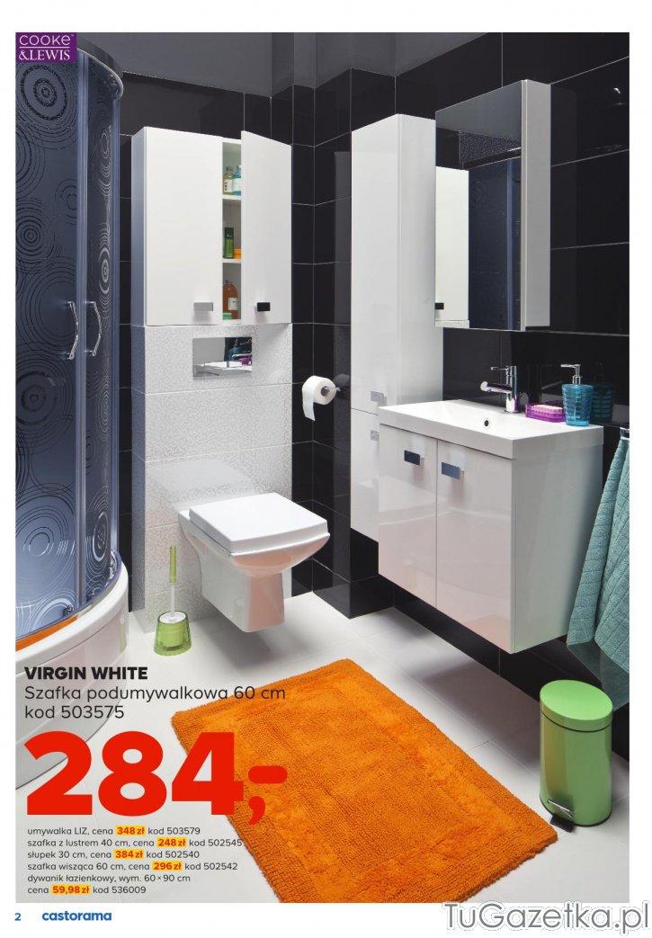Umywalka Liz Castorama łazienka Tugazetkapl