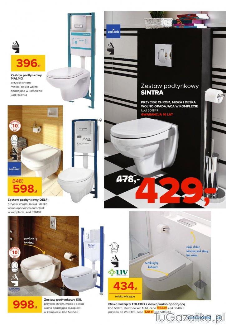 Gazetka Castorama Strona 25 Castorama łazienka Tugazetkapl