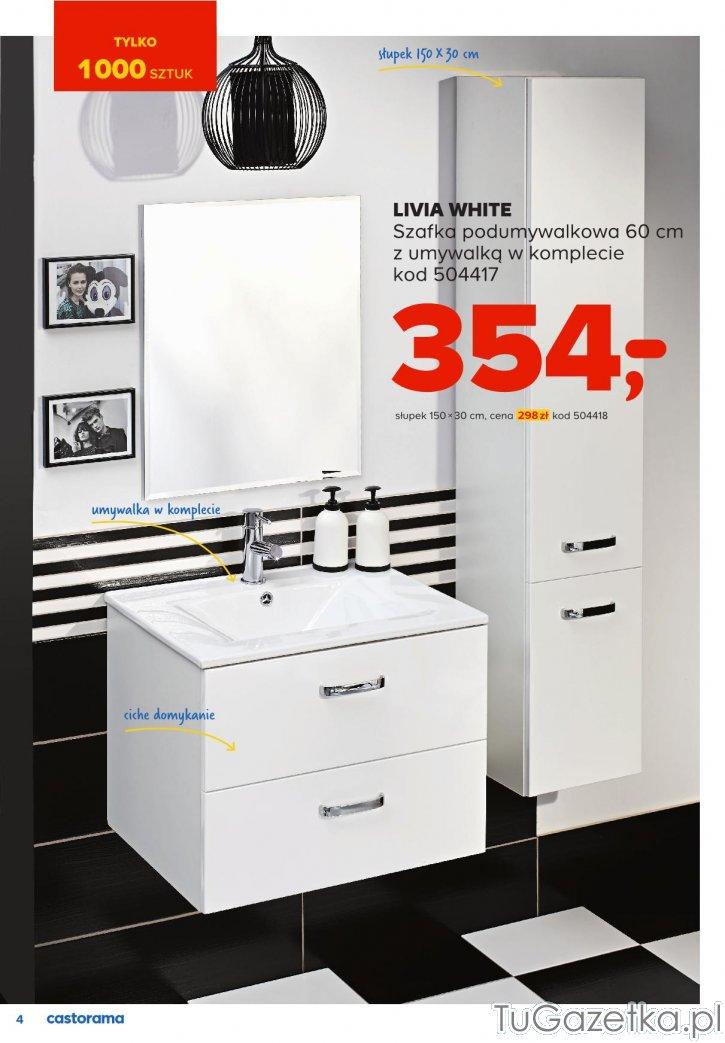 Szafka Pod Umywalkę Castorama łazienka Tugazetkapl