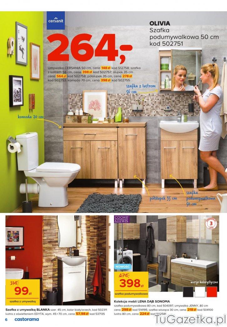 Meble Do łazienki I Aranązacja łazienki W Drewnie Castorama