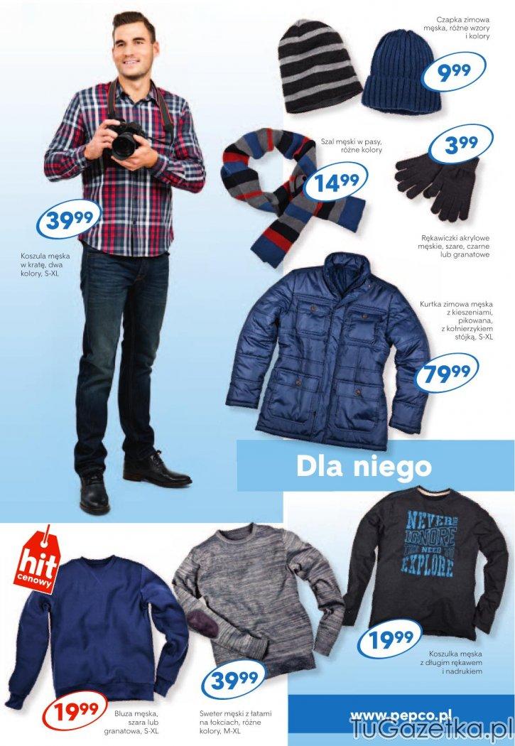 Jesienna odzież męska kurtka pikowana Pepco, Moda, odzież
