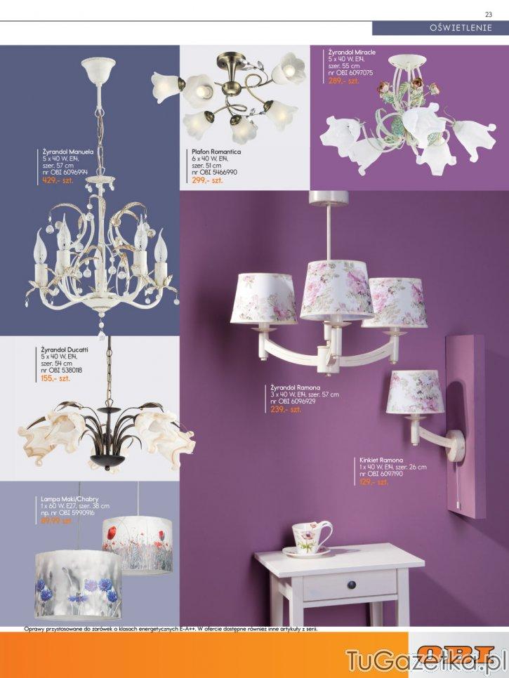 Lampy Wiszące Dekoracyjne Obi Wystrój Wnętrz Wyposażenie