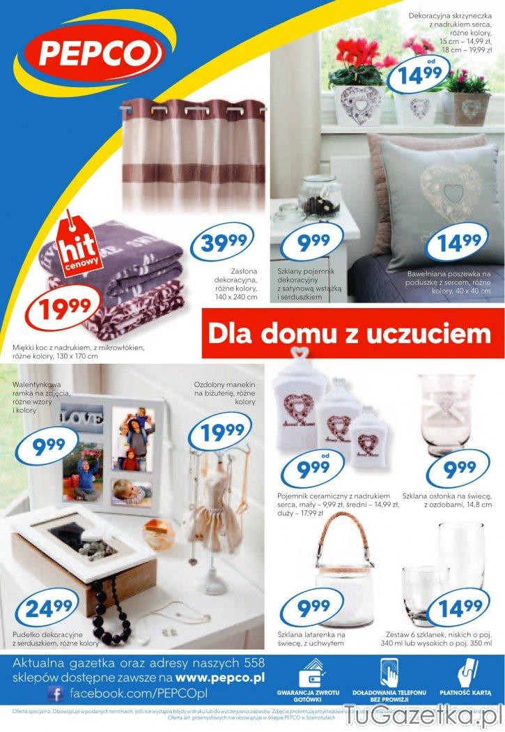 3a53b768d4c4b8 Dodatki do dekoracji domu Pepco, Wystrój wnętrz, wyposażenie domu -  tuGAZETKA.pl