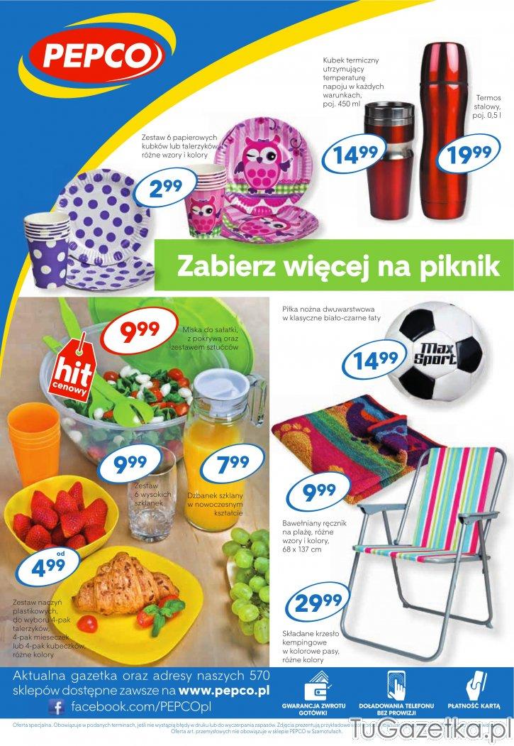 Sprzęt plażowy piknikowy rekreacja Pepco, Ogród tuGAZETKA.pl