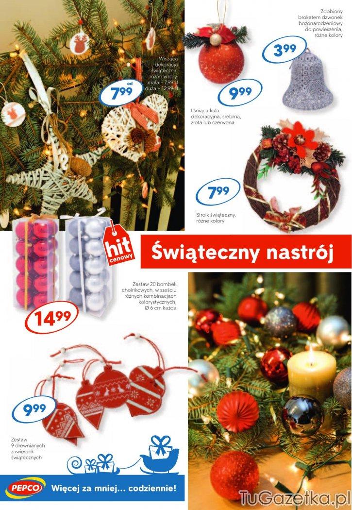 a491953c9fbeb3 Dekoracja choinki z Pepco bombki świąteczny nastrój Pepco, Swięta, choinka,  Mikołaj, okolicznościowy - tuGAZETKA.pl