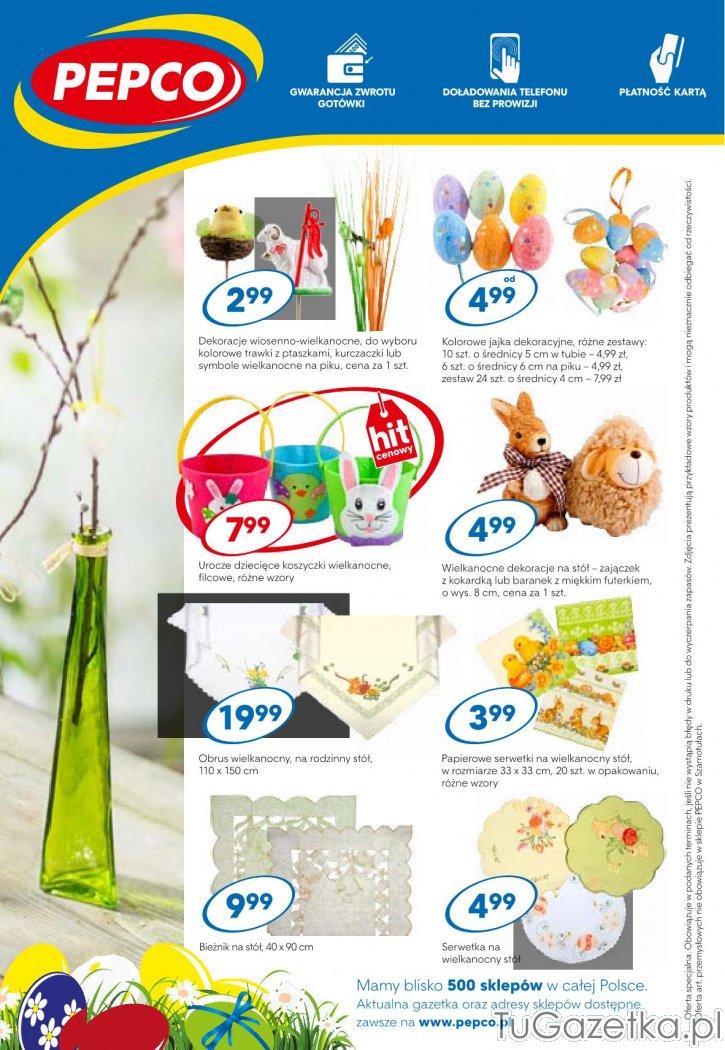 Gazetka Ozdoby Wielkanocne Jaja Dekoracyjne Pepco Swięta