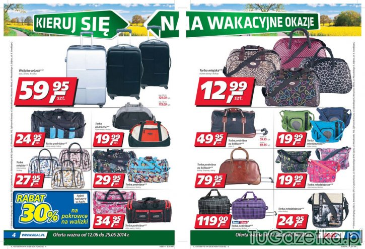 09e68757475aa Torby i walizki w real Real, Sport i rekreacja - tuGAZETKA.pl