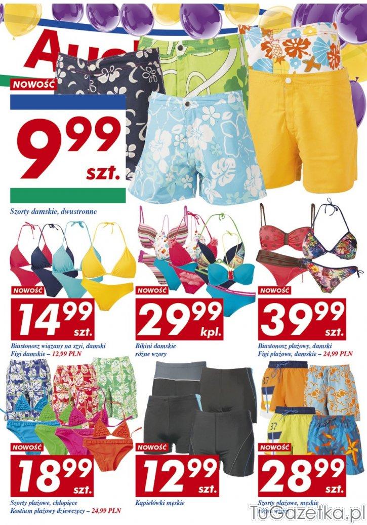 97a4b7135c8102 Szorty strój kąpielowy Auchan, Moda, odzież - tuGAZETKA.pl