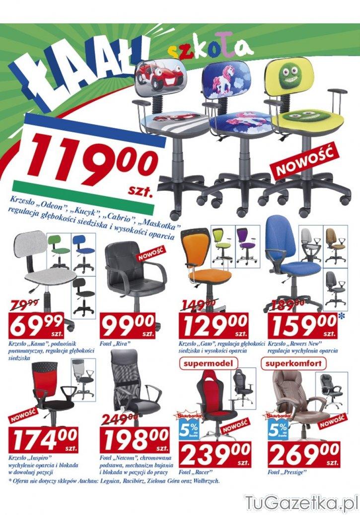Krzesło do biurka szkolnego Auchan, Artykuły biurowe