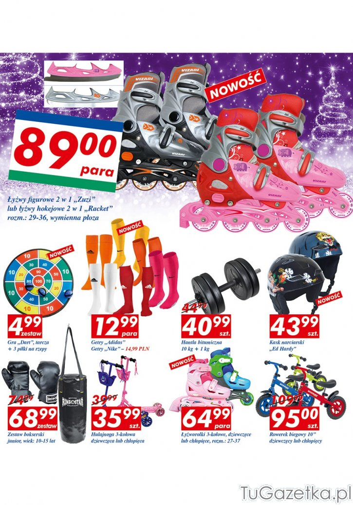 Worek bokserski Auchan, Dla dzieci tuGAZETKA.pl