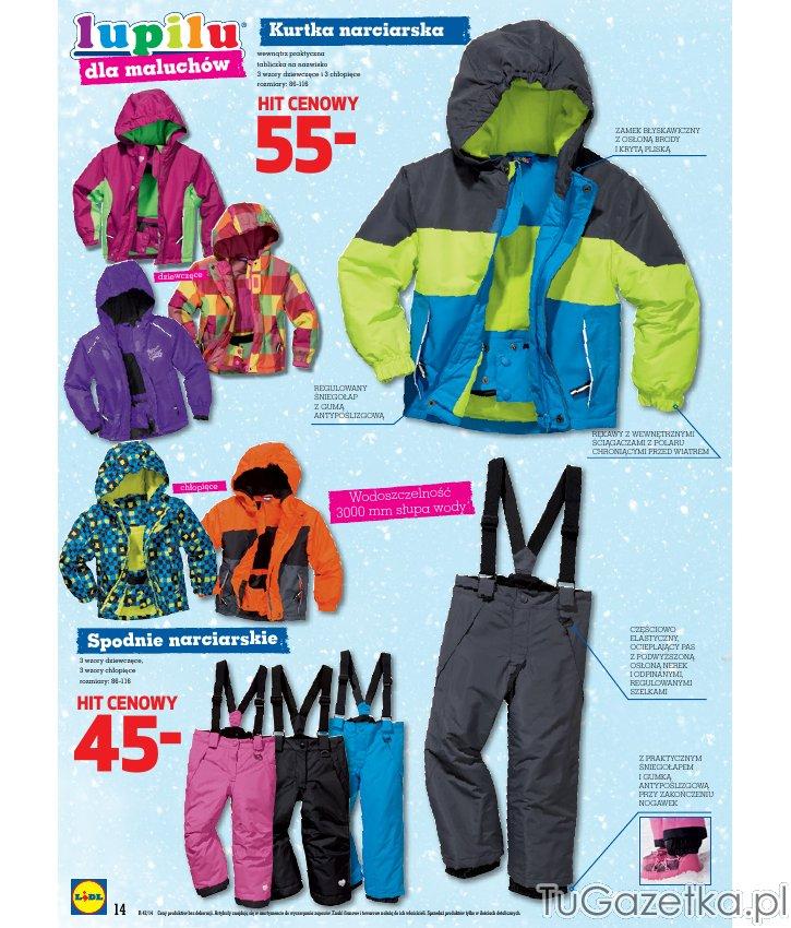 pepco spodnie narciarskie