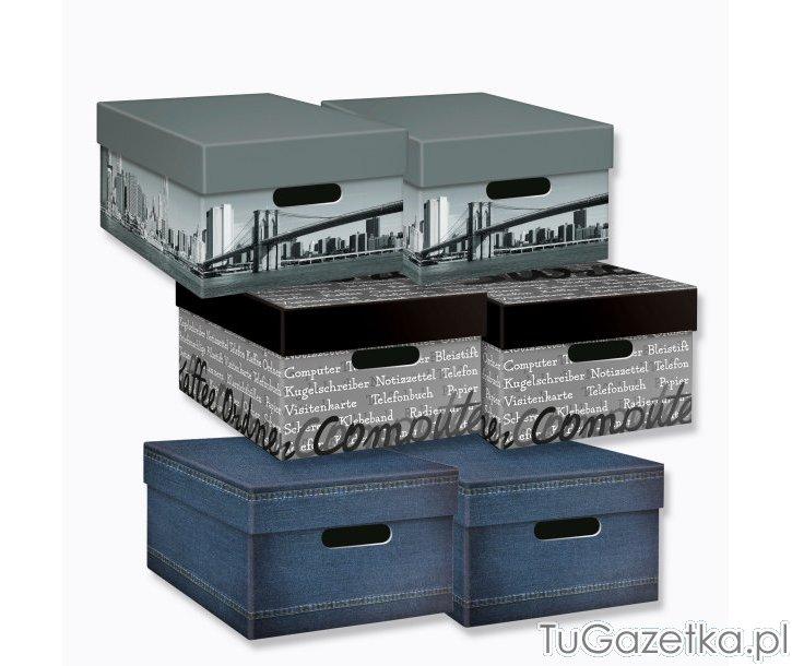 Pudełka Do Przechowywania Aldi Artykuły Biurowe