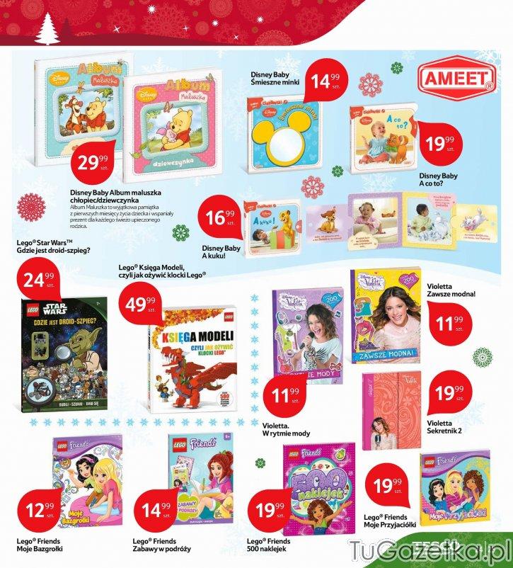 Książeczki dla maluszków, książki Lego i Violetta Tesco