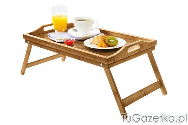 Stolik śniadaniowy Do łóżka Lidl Sypialnia Tugazetkapl