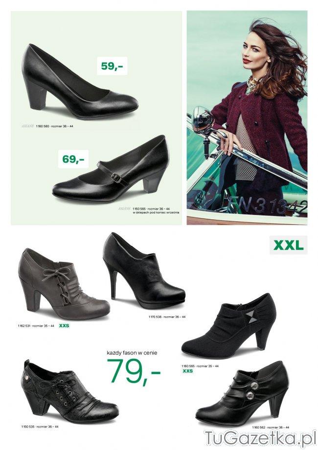 3e26ef7091350 Wizytowe buty damskie Deichmann, Obuwie i galanteria - tuGAZETKA.pl