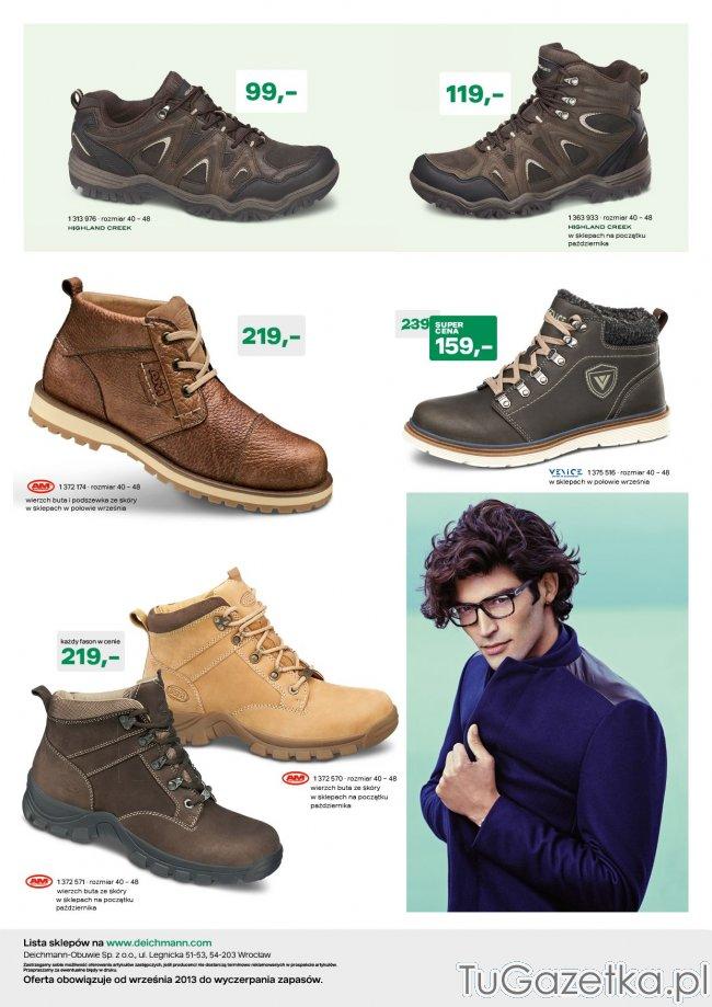 e201d995 Produkt z Gazetka Deichmann kolekcja obuwia jesień zima 2013-2014, buty w  rozmiarach XXL. Buty jesienne młodzieżowe