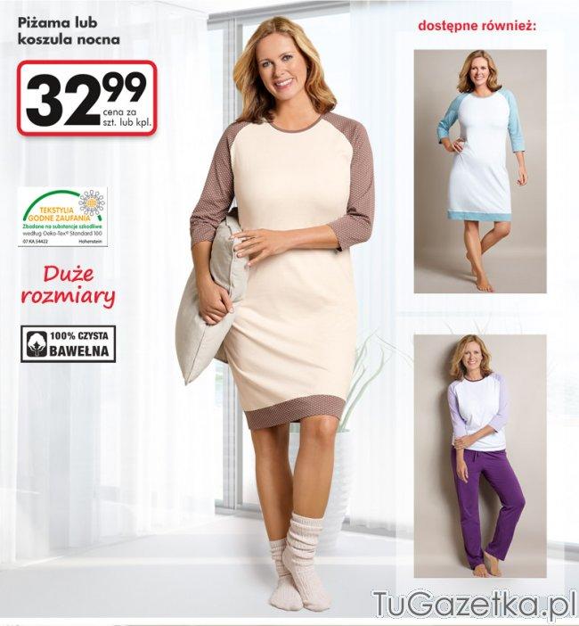 000698254ca05d Piżama lub koszula Biedronka, Moda, odzież - tuGAZETKA.pl