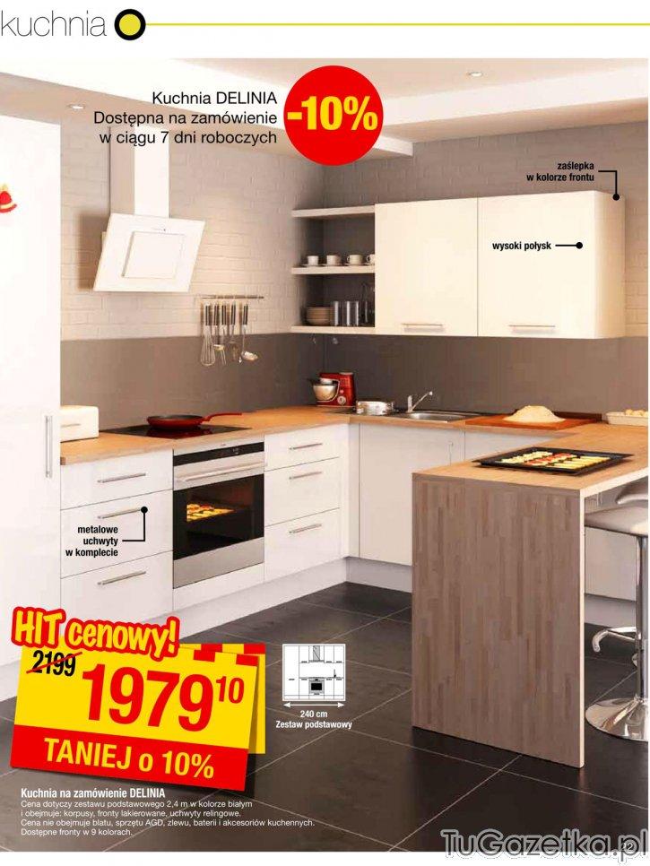 Kuchnia na zamówienie Leroy Merlin, Swita, choinka, Mikoaj, okolicznociowy  -> Kuchnie Inspiracje Leroy Merlin
