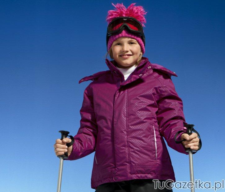 jagodowa kurtka narciarska tchibo