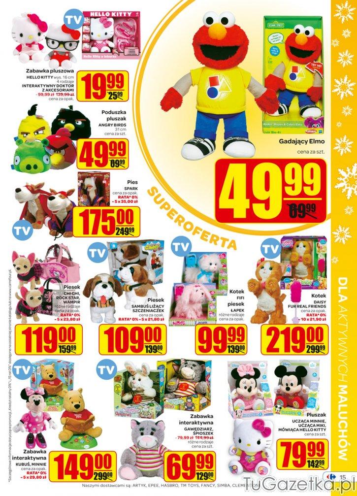 Carrefour zabawki
