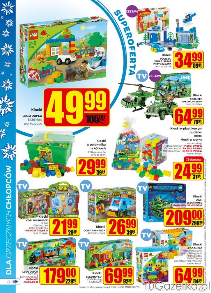 Klocki Dla Chłopaka Duplo I Lego Carfour Carrefour Carrfour I Kerfur