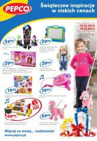 Zabawki Odzież Dziecięca Choinka Gazetka Pepco Promocje Od 13 Do