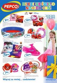 Gazetka promocyjna auchan zabawki