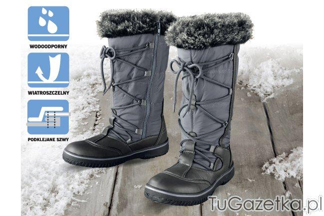 śniegowce Damskie Na Zimę Futerko Lidl Moda Odzież Tugazetkapl