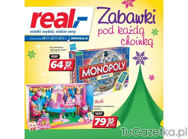 Gazetka real zabawki