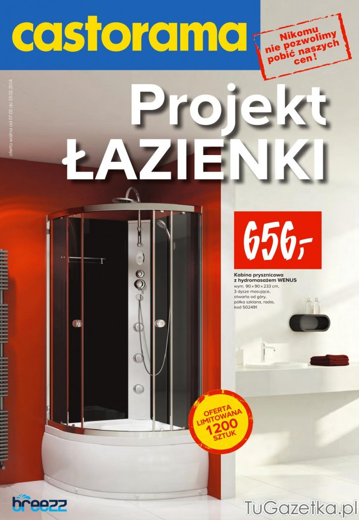 kabina prysznicowa gazetka luty castorama wystr j wn trz. Black Bedroom Furniture Sets. Home Design Ideas