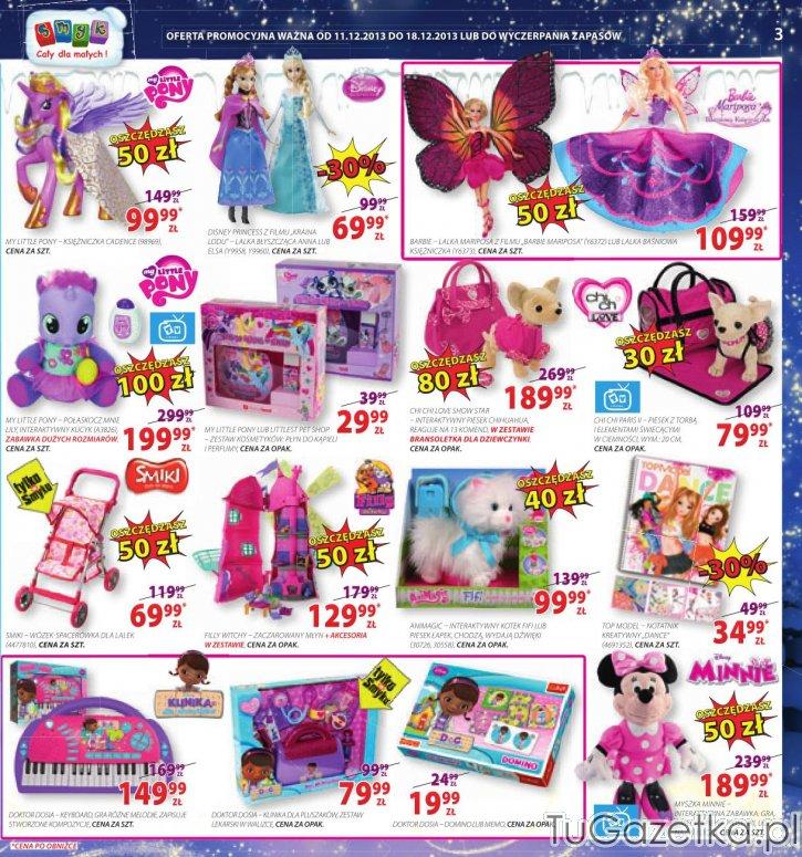 Lalki zabawki dla dziewczynki Smyk, Dla dzieci  tuGAZETKA p -> Kuchnie Dla Dzieci Smyk