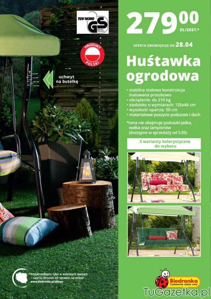 Hustawka Ogrodowa Z Biedronki 2015 : Produkt z Gazetka Tajemniczy Ogród Gazetka Biedronka 20140428 do