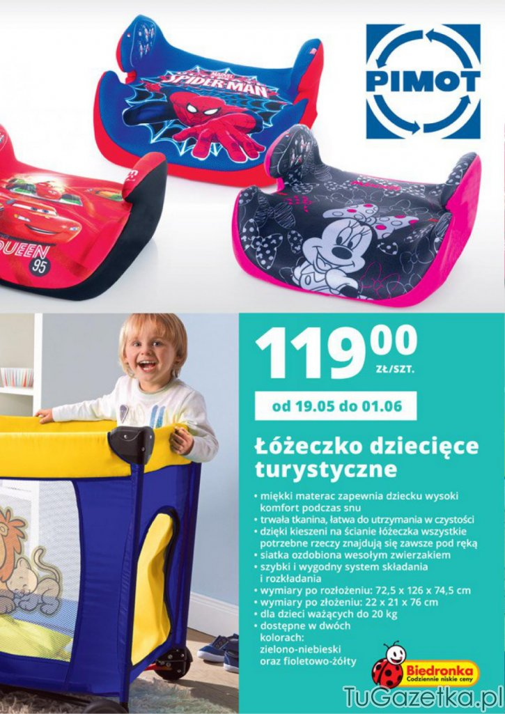 Meble Ogrodowe Dla Dzieci Z Biedronki : Dziecięce łóżeczko turystyczne, siedzisko samochodowe