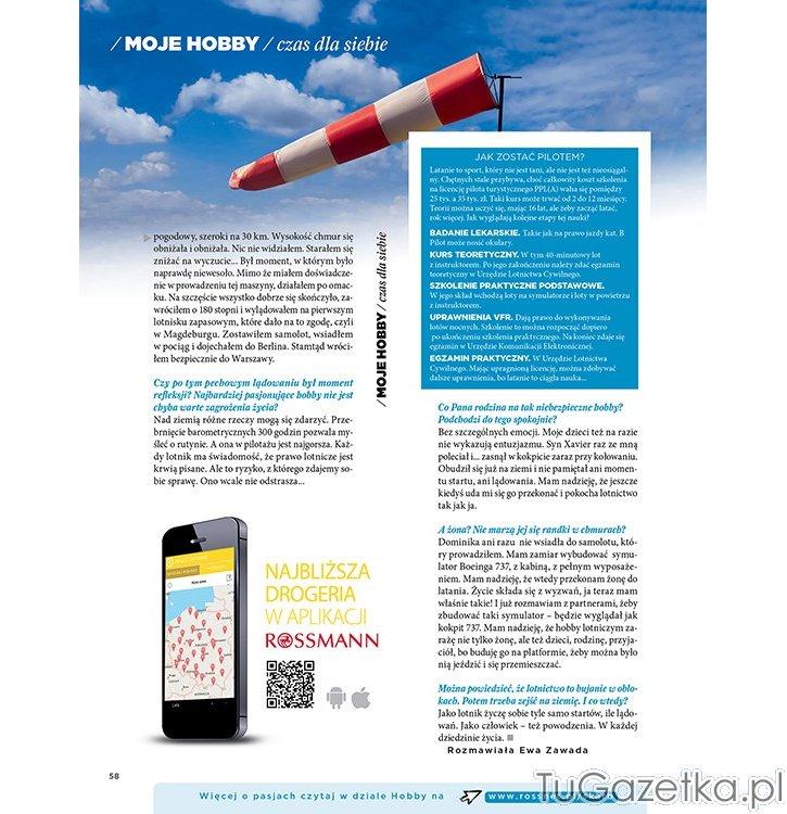 Gazetka rossmann skarb kwiecień 2014 numer 4 nowości kosmetyczne w