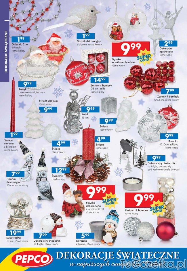 Ozdoby świąteczne Na Boże Narodzenie Pepco Swięta Choinka