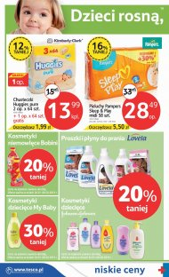 Pieluchy Huggies, Pampers Sleep & Play, proszek do prania ubra� ...