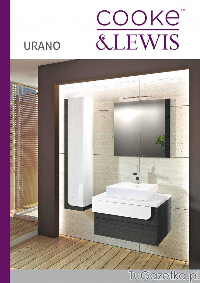 Kolekcja łazienki Urano Castorama łazienka Tugazetkapl