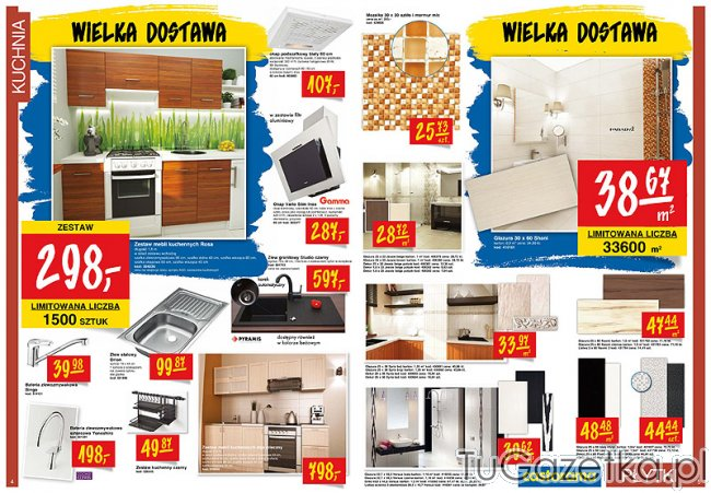 Meble kuchenne Castorama, Kuchnia  tuGAZETKA pl -> Kuchnie Castorama Cena